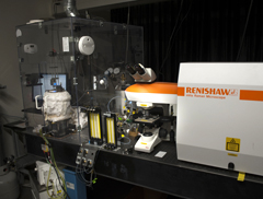 raman microscope and high temperature furnace at Montana State University