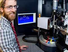 professor and X-ray diffractometer